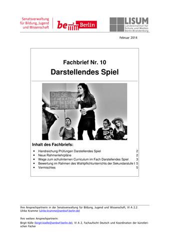Fachbrief DS 10